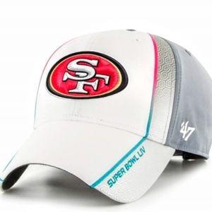 San Francisco 49ers Super Bowl Hat New